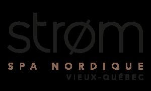 Logo Strom spa nordique vieux quebec
